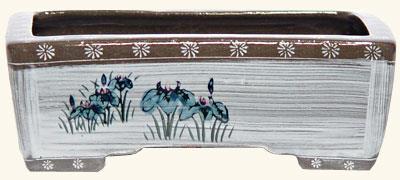 19 5 vaso tokoname 416 g 75 00 for Vasi bonsai plastica